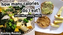 What I Ate in a Day When I Film a Mukbang Video Lazy Vegan Meals I Counted My Calories Macros