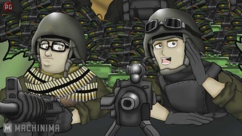 Друзья по Battlefield Кемперы