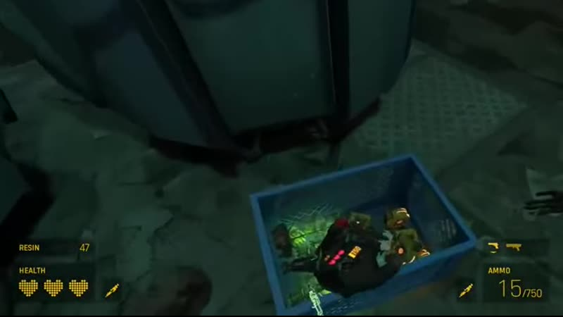 Гейб Ньюэлл Вы можете использовать только два слота для предметов в Half Life Alyx но есть реалистичная физика Я Ну ок