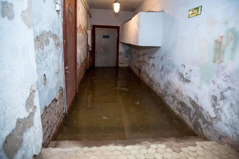 Подвальное помещение Дома культуры п.Водный каждую весну подвергается затоплению