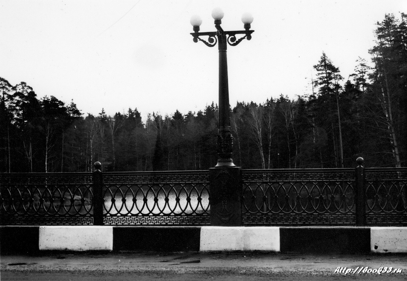Мост через Вербовку (фото со старыми фонарями)