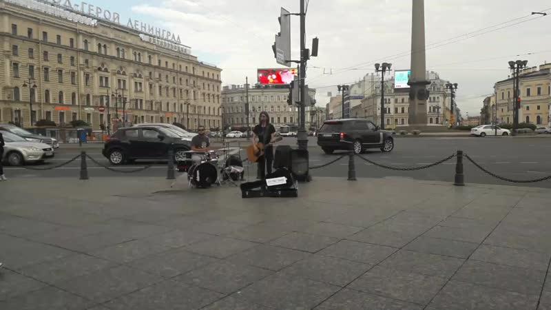 Просто музыканты на улицах города питерживаямузыка