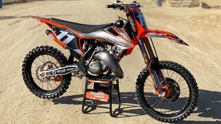 RD Racing Project KTM 125SX 2 Stroke - Motocross Action Magazine