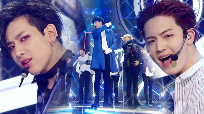 《EXCITING》 GOT7 갓세븐 Never Ever @인기가요 Inkigayo 20170409