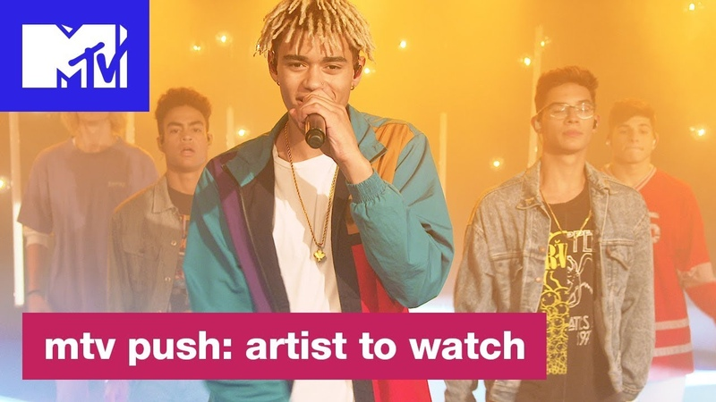 'Would You Mind' Live Performance by PRETTYMUCH | MTV Push: Artist to Watch