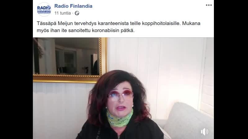Lähde Lähde Radio Finlandia facebook Meiju Suvas 16 04 2020