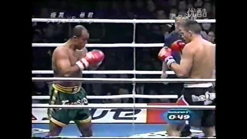 19 2001 12 18 Francisco Filho vs Peter Aerts K 1 World Grand Prix 2001 Quarter Finals
