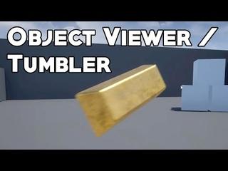 UE4 Tutorial: 3D Object Viewer/Tumbler (Skyrim, Tomb Raider)