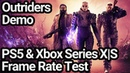 Outriders PS5 and Xbox Series XS Frame Rate Test Demo