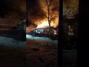 Пожар в поселке Аюта