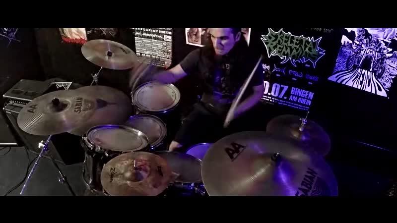 SKELETAL REMAINS - Obscured Velitation (Official Music Video)