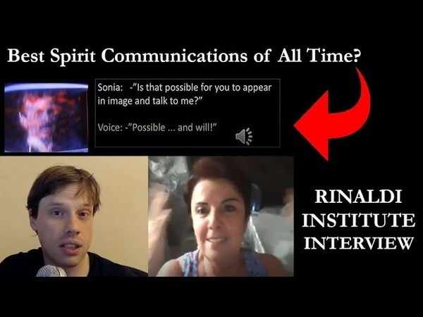 The BEST EVP and Spirit Images Ever Recorded Sonia Rinaldi Interview