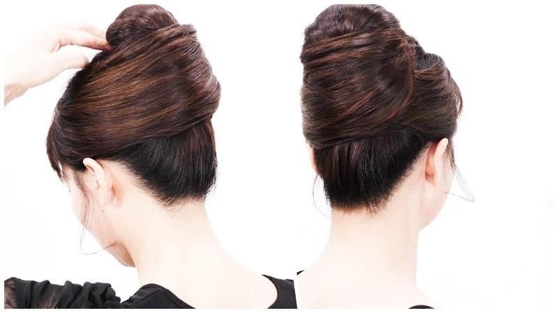 [上級編] 夜会巻きの作り方/巻きなし 逆毛なし /French Twist/ Self Made Hair Styles/Chie's Hair
