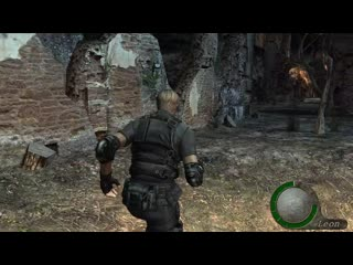 Resident Evil 4 HD project - 4K recording test