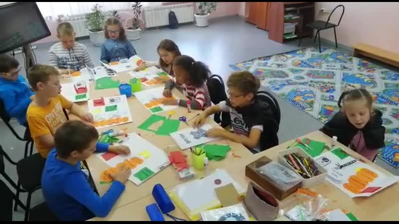 English camp , создание lap book