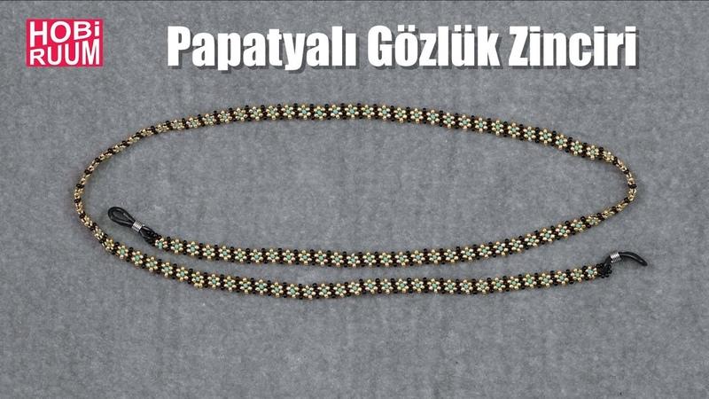 Papatya Gözlük Zinciri