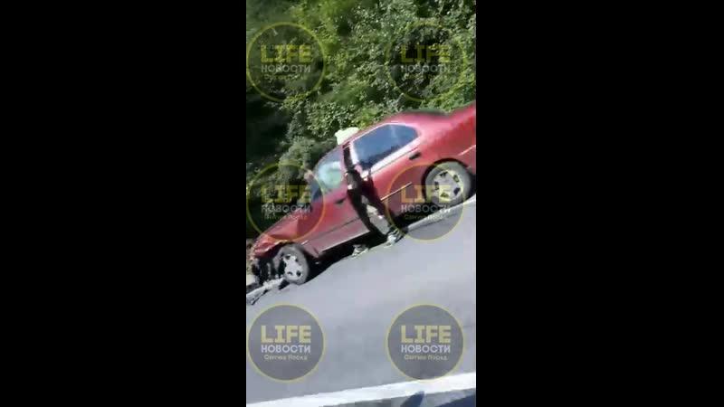 Авария недалеко от Барканово, в сторону Новинок.