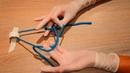 Double one handed surgical knot сложный хирургический узел по Булынину 1080р