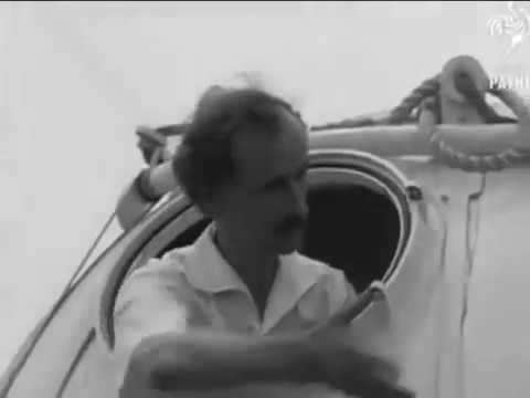 Auguste Piccard What did he see at 10 miles high