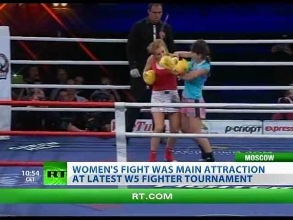 Striking Beauty Russian female MMA fighter wins again