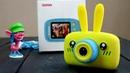 Детский фотоаппарат с играми