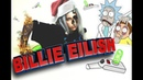 Билли Айлиш Billie Eilish у РИКА И МОРТИ Эффект огня в фотошопе photoshop by Beetle