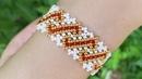 Beaded bracelet Easy bracelet Diy bracelet Браслет из бисера Браслет своими руками