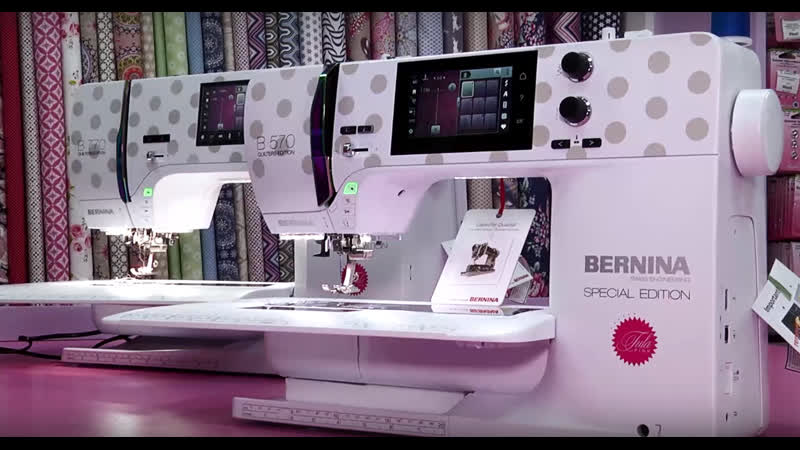 Bernina B 770 QE 570 QE Tula Pink Special Edition