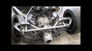 Lamorghini Diablo Frame with Corvette C5 suspension Audi AAN engine and 01E gearbox