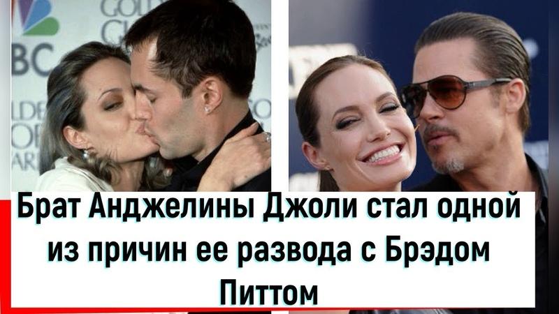 Брат Анджелины Джоли стал одной из причин ее развода с Брэдом Питтом