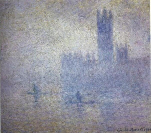 «Здание Парламента в Лондоне», Клод Моне
