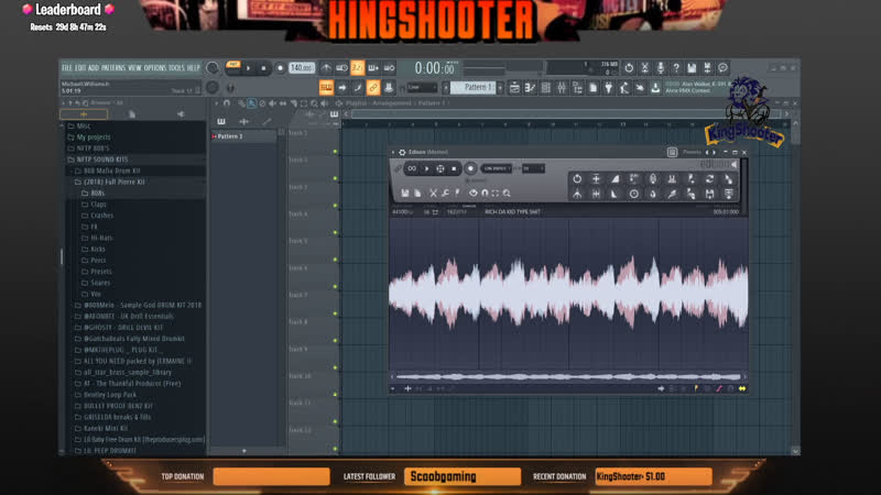 HOW TO MAKE BEATS USING FL STUDIO 20 USING A MELODY LOOP