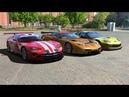 Тестируем легенды GT1 Dodge Viper GTS R vs Corvette C5 R vs Corvette C6 R LIVE