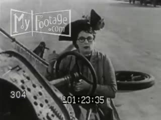 1920s_woman_runs_in_front_of_car._car_collapses._goofy_gags_silent_film