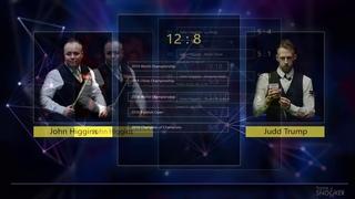 Snooker. World Open 2019. Judd Trump - John Higgins. SF (PRE-MATCH GRAPHIC)