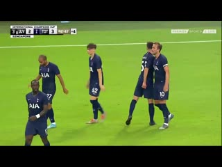 Harry Kane Incredible HALFWAY LINE GOAL - Juventus 2-3 Tottenham (International Cup) 2019 HD