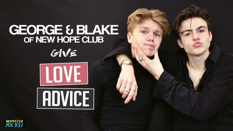 George Blake of New Hope Club Give Love Advice [Rus Sub]
