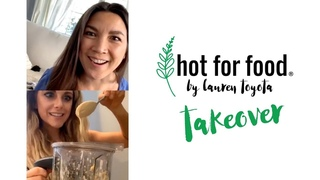 Lindsay Ell makes cauliflower pasta sauce | Ep #7 #hotforfoodtakeover LIVE