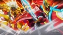 Beyblade Burst Turbo: Aiger VS Shu, Ranjiro, Fubuki And Suoh