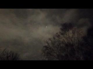 В небе над Новокузнецком заметили НЛО