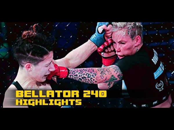 Bellator 240 highlights Knockouts submissions and beatdowns light up Dublin