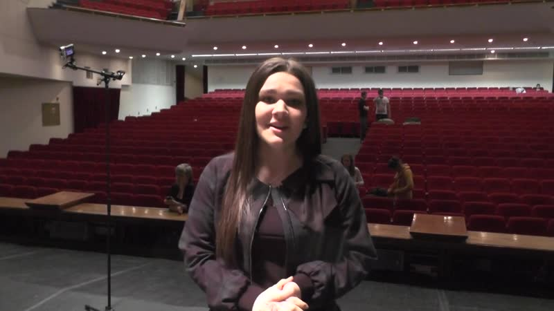 Видеопривет Дины Группе ВК с концерта в Новосибирске 11.03.2015