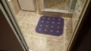 Душевая кабина в ванной комнате . Идея дизайна ванной