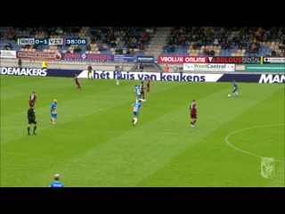 "Эредевизи 19/20, 8-й тур. ""Валвейк"" 1:2 ""Витесс"". Обзор матча от Vitesse TV"