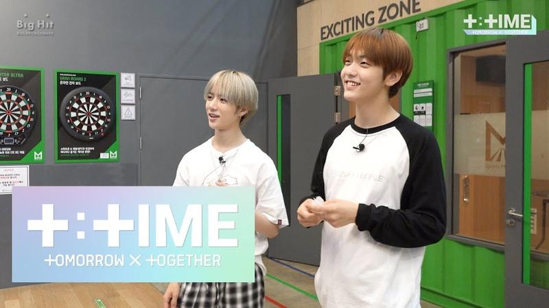 [T:TIME] Who's the winner of the dart game - TXT (투모로우바이투게더)