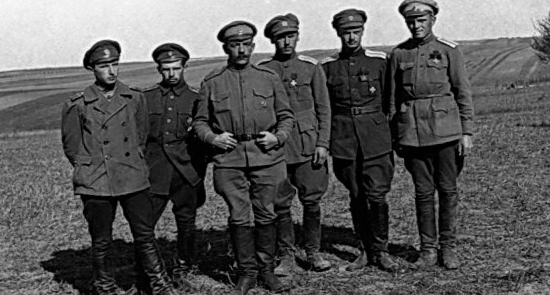 Офицеры Семеновского полка