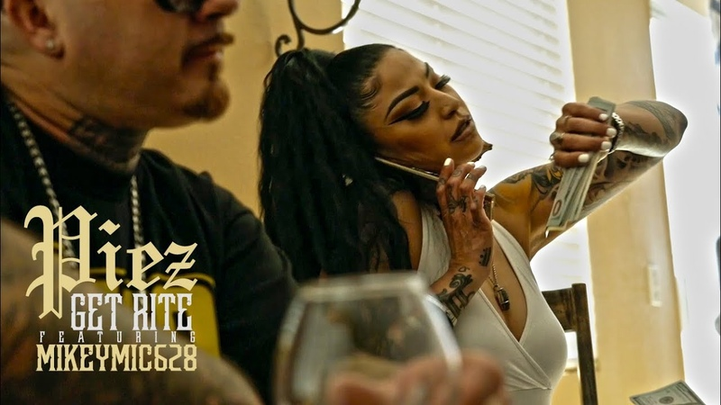 Piez - Get Rite Ft. MikeyMic628 (Official Music Video)