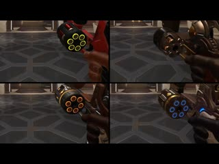 Mccree uses a speedloader in his reload animation (by owlero)