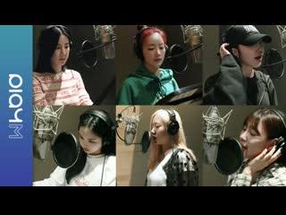 [RUS] Apink 9th Mini Album 덤더럼(Dumhdurum) Recording Making Film