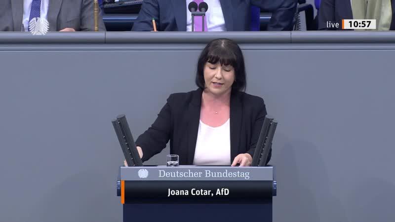 Anträge zur Digitalisierung Deutschlands reine Showveranstaltung Joana Cotar AfD Fraktion 1080p 25fps H264 128kbit AAC